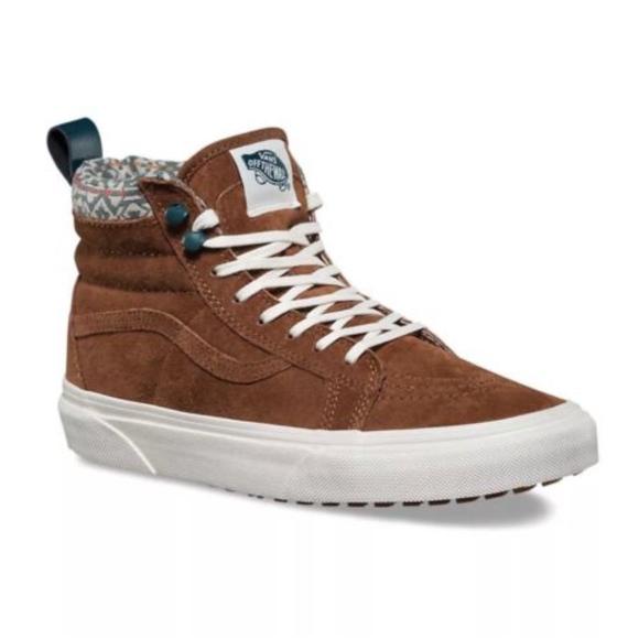d341ca1fa9 Vans Sk8 Hi MTE Sneakers Monks Robe Blanc de Blanc